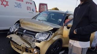 תאונת דרכים במרכז העיר