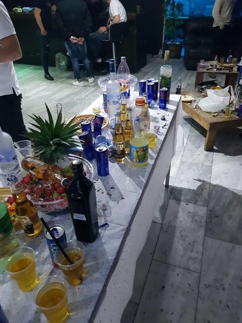 מסיבת  אלכוהול