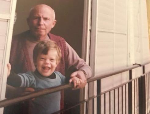 סבא חיים ואני
