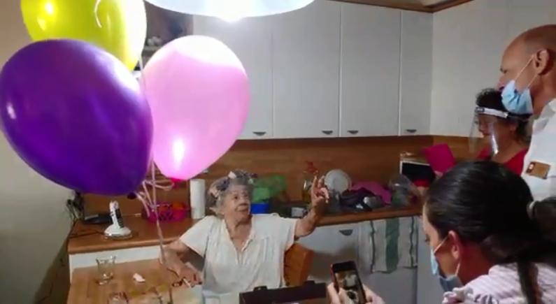 חגיגת יום הולדת מרגשת לזלמה קצנגולד