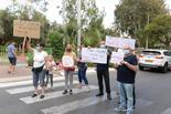 ההפגנה בראשון לציון