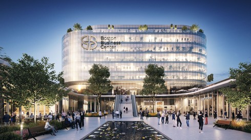 """המרכז החדש שיקום בראשל""""צ - Boston Business Center"""