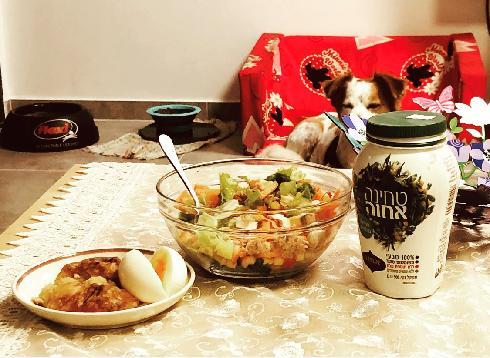 ארוחה ביתית בימי הסגר