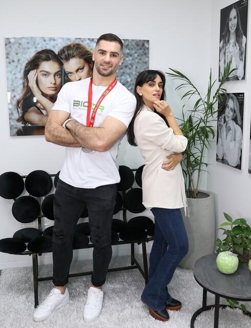 לירז צ'רכי ופיטר פלצ'יק לביופור