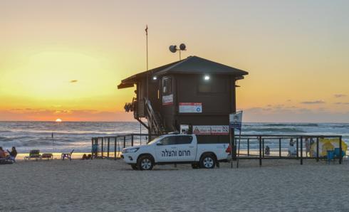 מציל בחוף ראשון לציון