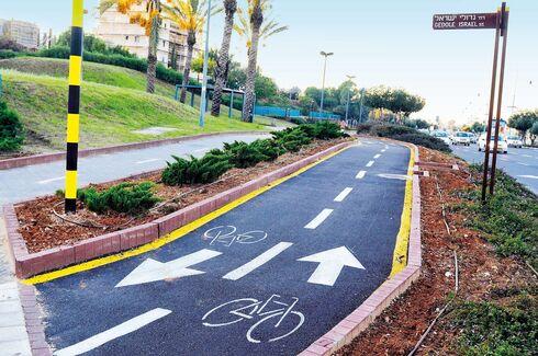 מסלול אופניים בעיר