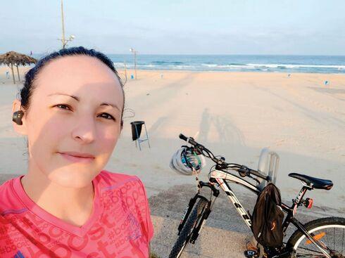סילביניה ויצמברג והאופניים