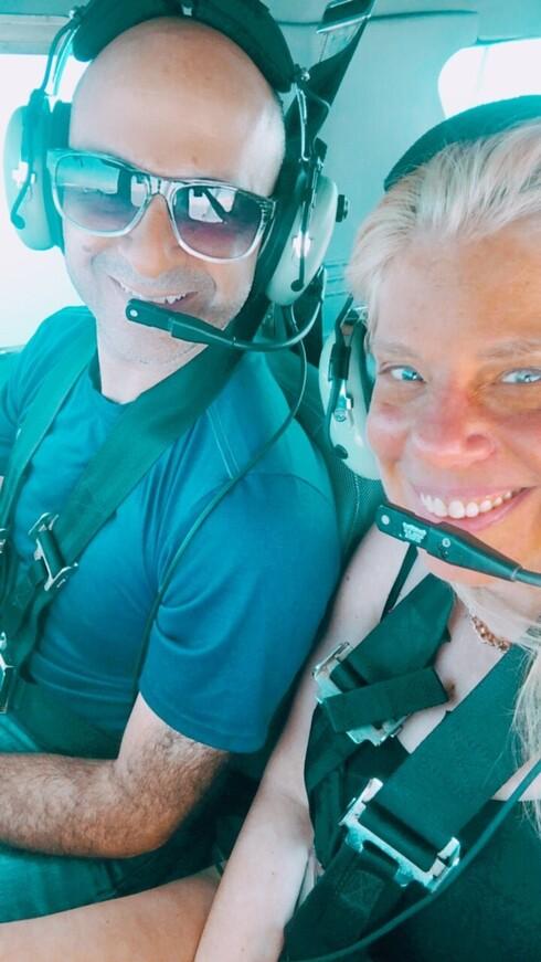 סלפי עם אלי נאמן בגובה 1,200 מטר