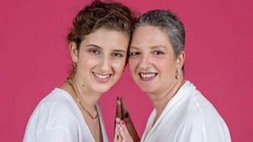 שרון ובתה לירי מתוך הקמפיין
