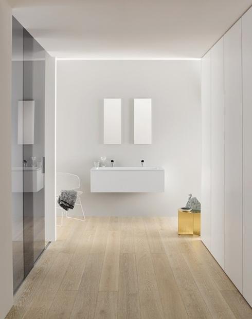 חדר רחצה מינימליסטי של המותג הגרמני Alape בלעדית ב- HeziBank