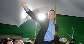 הניצחון של קינסטליך. החגיגות החלו מוקדם | צילום: אבי מועלם