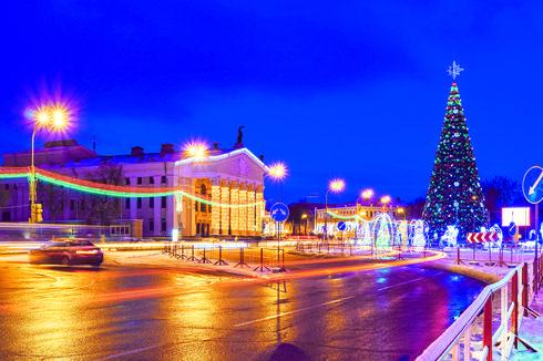 עץ אשוח כמו בערים גדולות בעולם | המחשה: ShutterStock