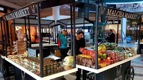שוק האוכל בקניון הזהב | צילום: טירן רובין