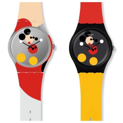 """מהדורת שעונים מיוחדת של סווטש לרגל חגיגות ה 90. יח""""צ"""
