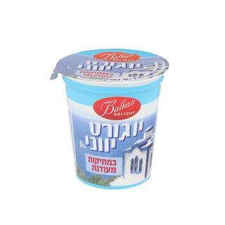 """יוגורט יווני במתיקות של מחלבת שומרון. יח""""צ"""