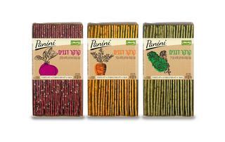 קרקרים של ירקות בצבעים וטעמים. צילום: סטודיו כרמית