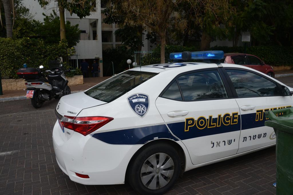 ניידת משטרה. צילום: יאיר שגיא