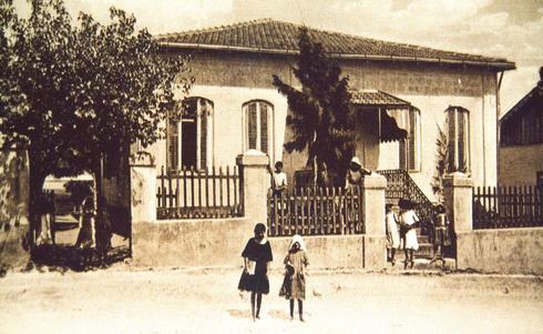 בית ספר 'חביב'. מחזור ראשון לפני 133 שנה | צילום: באדיבות מוזיאון ראשון לציון