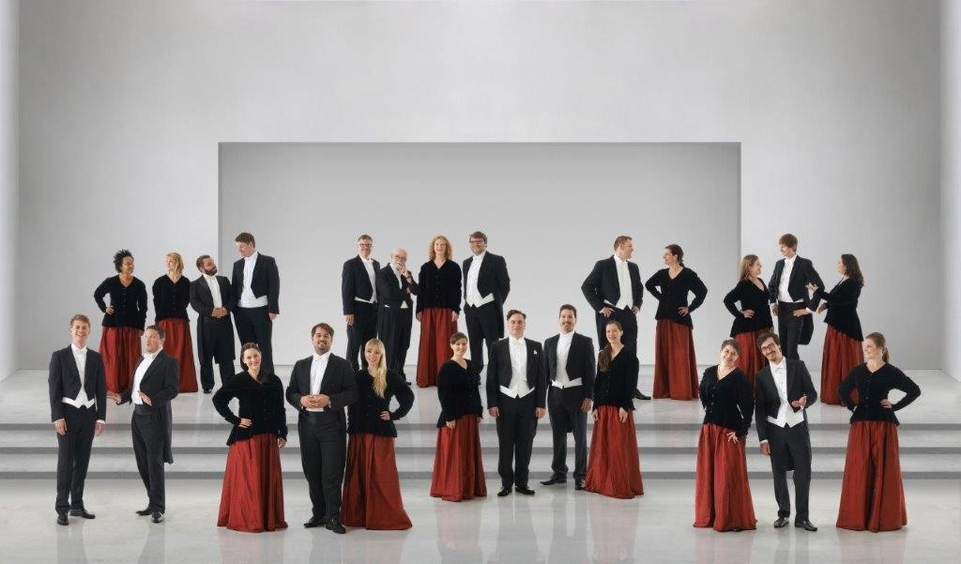 מקהלת הסולנים הקאמרית משטוטגרט. צילום: Jens Meister