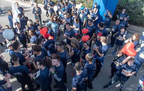 מרוץ ראשון לציון 2019 , מקצה לבעלי צרכים מיוחדים | צילום: אבי קקון