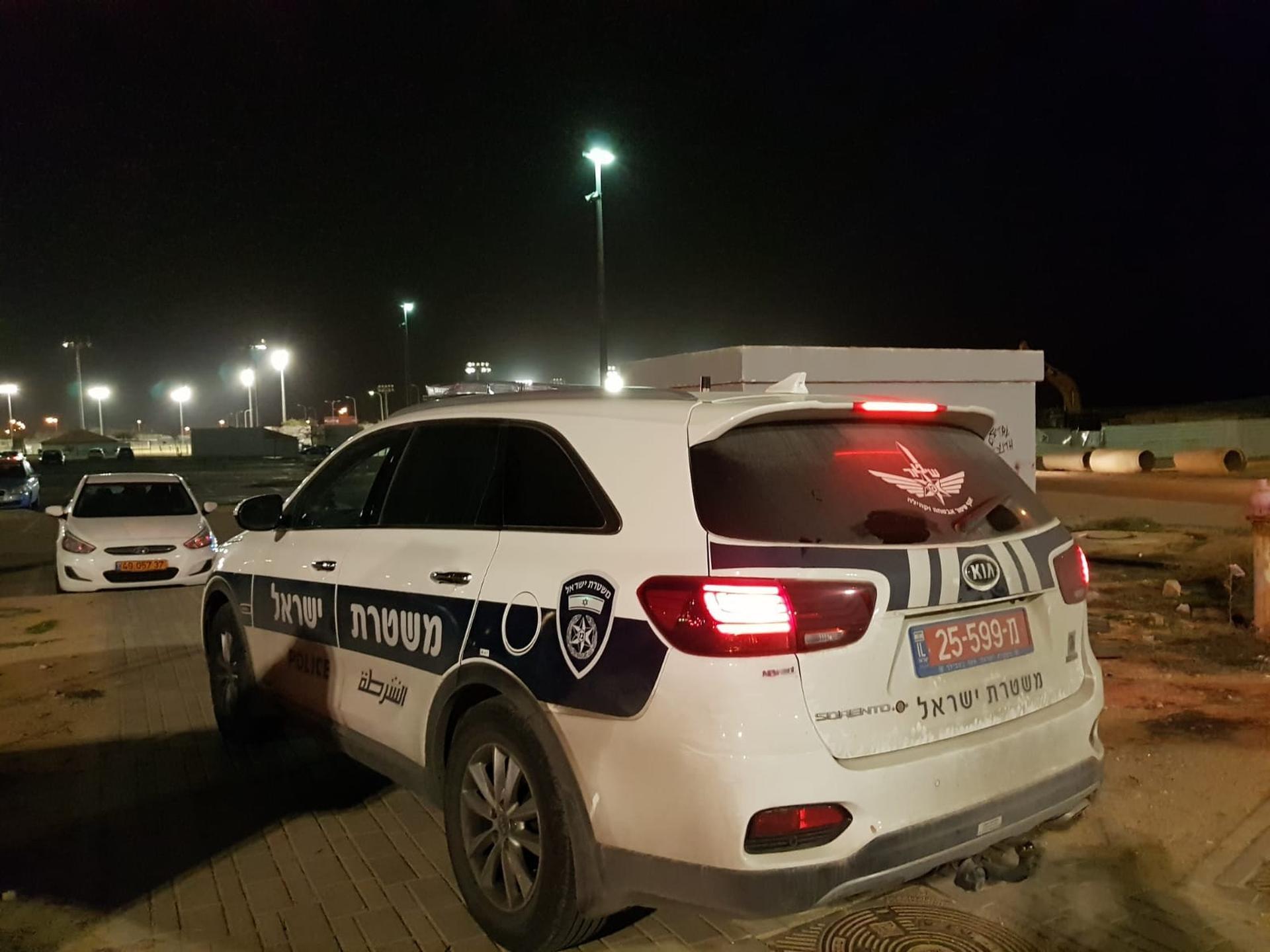 ניידת משטרה | צילום: יגאל ברמן