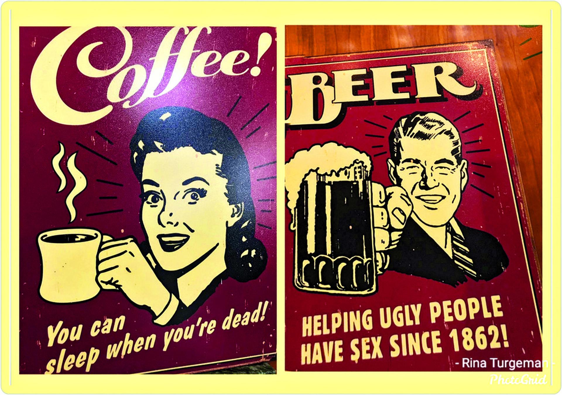 רומא. בירה, קפה ומצברוח | צילום: עמוד הפייסבוק של רינה תורג'מן