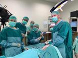 צוות חדר הניתוח | צילום: באדיבות 'שמיר אסף הרופא'