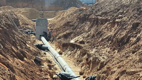 תעלות האשפה מתחת לאדמה   צילום: עיריית ראשון לציון