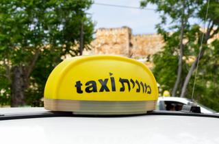 מונית. צילום: shutterstock