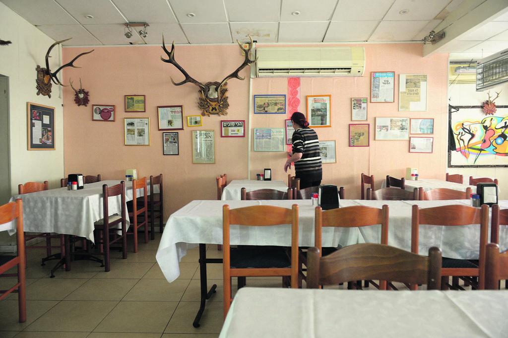 'מסעדת הניצחון'. דבר לא השתנה | צילום: אבי רוקח